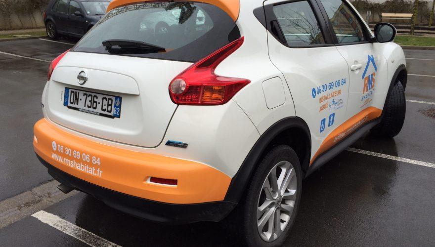 Décoration véhicule impression numérique